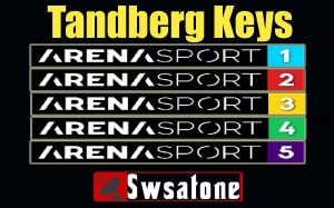 Arena Sports channels Latest Tandberg Keys and Working SID Frequency 2019