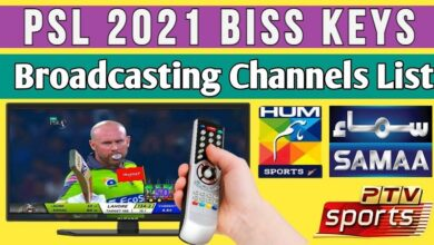 Pakistan Super League 2021 T20 Match Cricket Feed Latest Biss Key