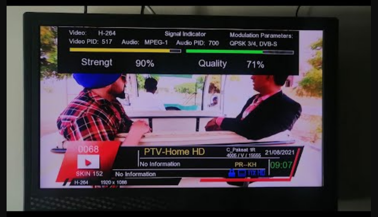 PTV Home HD Latest Biss Key and Working Frequency 2021