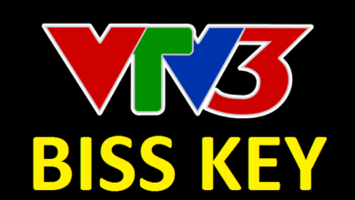 VTV 3 New Biss Key and Frequency On Thaicom 4