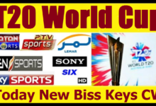 Cricket FEED WORLD CUP T20 Biss Key on AsiaSat 5 Code